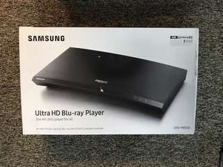 Samsung Ultra Blu-ray 4K M8500 CD DVD blue Ray player