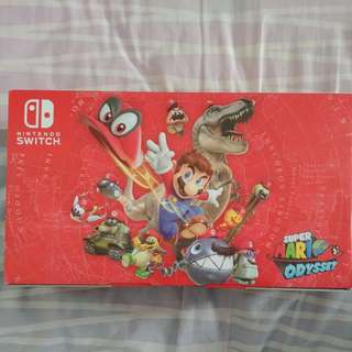 BN local set Nintendo Switch (red) Super Mario Odyssey edition (lincludes game)