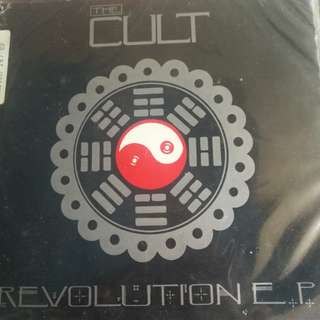 "The Cult double 7"", Revolution Ep record vinyl"