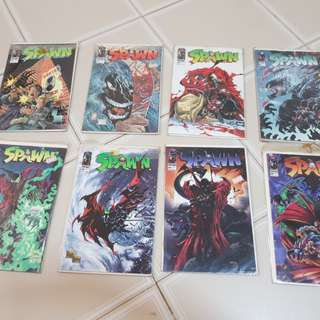 Selling off Spawn Comics