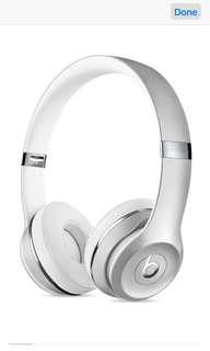 Apple beatssolo3 Wireless Headphones - Special Edition Silver