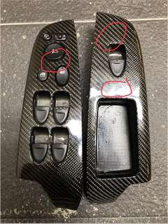 Honda FD Carbon power window panel