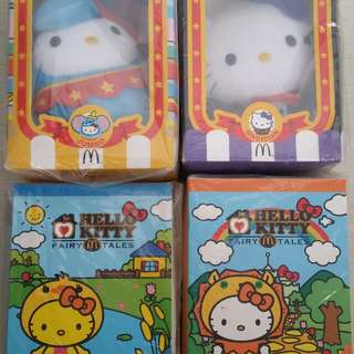 Mcd hello kitty soft toy