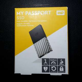 WD SSD 1TB portable hard drive my passport