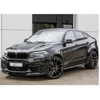 BMW X6 Lumma Bodykit