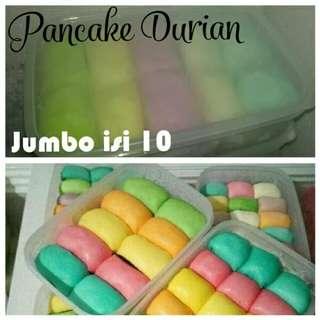 Pancake Durian Duren asli Medan Jumbo