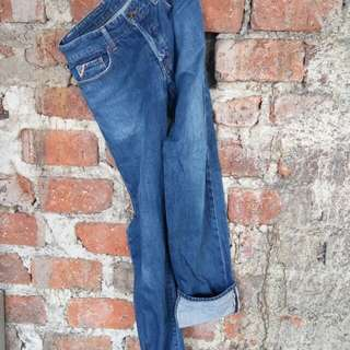 JEANS SELVEDGE COME ca ISM BY FIVE FOXED