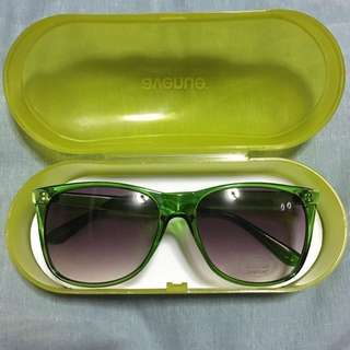 ✨ REPRICED ✨ Avenue Green Sunglasses with 100% UV Protection lenses