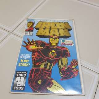 Marvel Comics Iron Man (gold and silver 30th anni Issue)