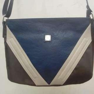 Brandnew girbaud bag with diagonal pattern