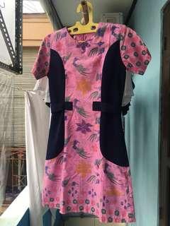 Dress batik formal atau kondangan