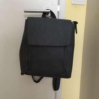 Grey Backpack/ slingbag/ tote bag