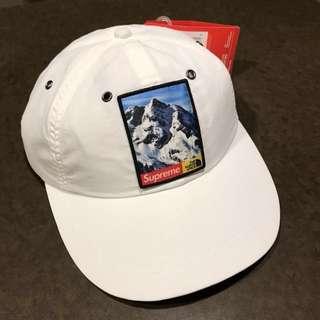 Supreme North Face Mountain 6-Panel Hat - White