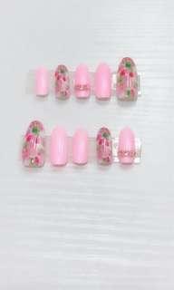 Hand make gelish nails
