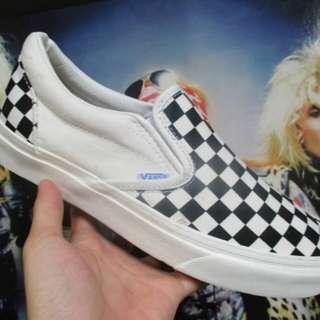 Vans slip-on OG checkerboard black white