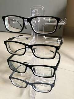 Black grey Spectacles Frame for Sale