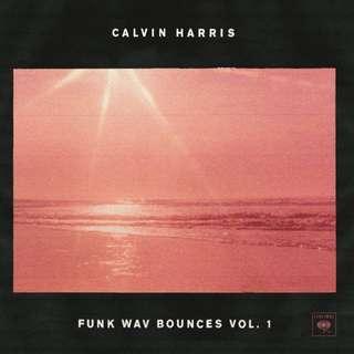 Calvin Harris - Funk Wav Bounces Vol. 1 Vinyl 2LP