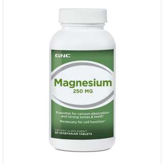 Magnesium 250 mg 90 Veg Tablet