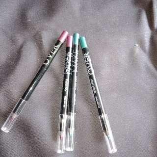 Eyeliner pencil makeover