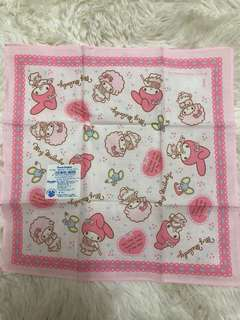 My Melody 27cm x 27cm 正方形紗巾