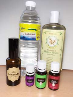 DIY insect repellent (Young living Essential Oils)