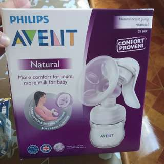Authentic Avent Manual Breast Pump