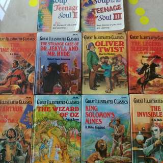 Great Illustrated Classics + Chicken Soup