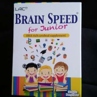 BRAIN SPEED FOR JUNIOR