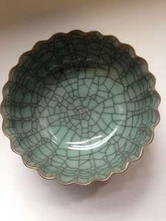 60年代12個精美劽紋小碗
