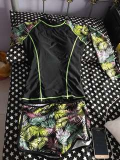 Swim wear(rash guard)