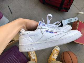 Reebok club c 85 us9