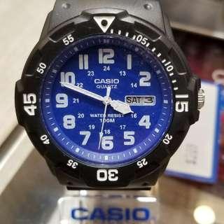 CASIO 100米防水手錶