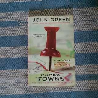 John Green's Paper Town Filipino Edition