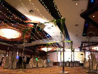 Overhead Fairy Light Decoration / Marquee Fairy Lights