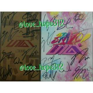 UP10TION ALL MEMBERS SIGNED ALBUM WITHOUT PC