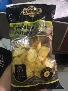 Argente potato chips 170g