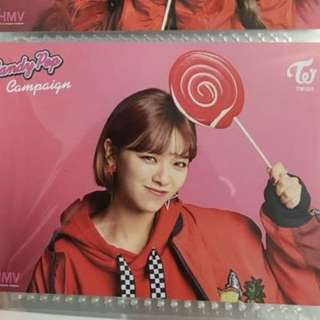 twice candy pop hmv card