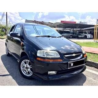 2005 Chevrolet Aveo 1.5 (A) PREMIUM SPEC TIP TOP