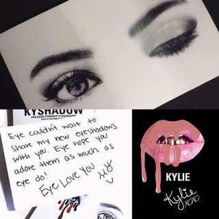 "[BN] KYLIE COSMETICS ""Eye Love You"" 3D Card"
