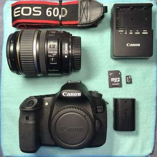 [ SOLD ] Canon EOS 60D + 17-85mm USM in great condition! CHEAP!!
