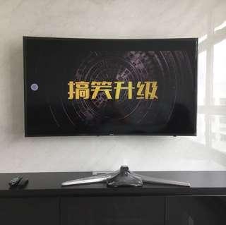 Samsung 55 inch TV (stand)