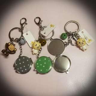 可愛掛飾連鏡匙扣