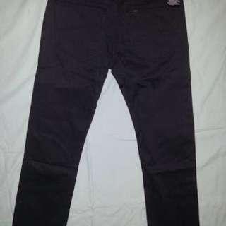 Celana Hitam Abu2 Lee Original