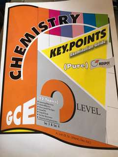 O level pure chemistry key points examination guide