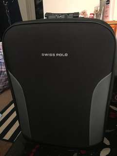 Swiss Polo Black Luggage 27""