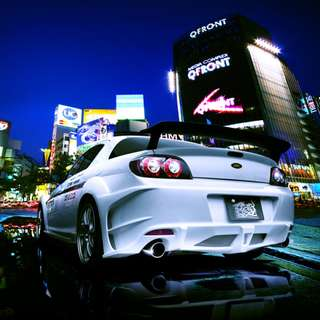 Mazda Rx8 2009 Re-Amemiya Bodykit