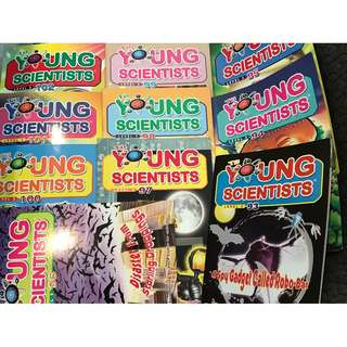 Young Scientists magazines (Level 3, 10 issues 93-102)