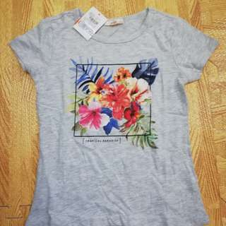 Bnew F&X shirt for girls size 8