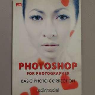 Buku photoshop for photographer