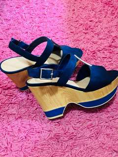 Charles & Keith 3-inch Wedge Shoes
